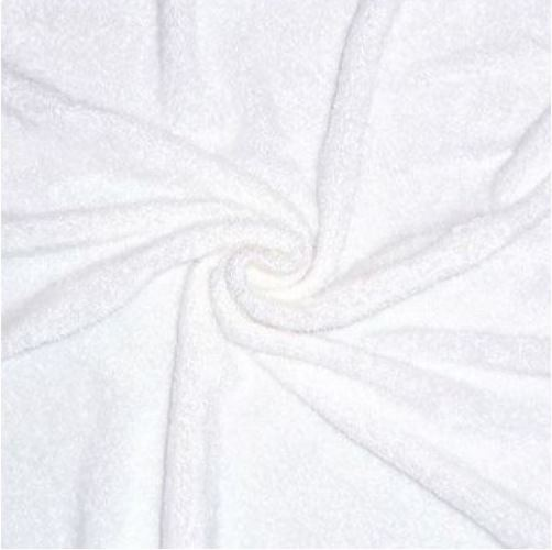 Micro éponge blanc tencel