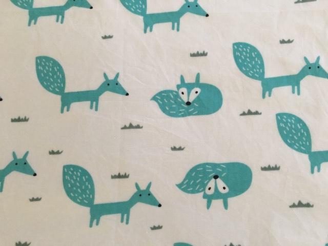 coton blanc renards