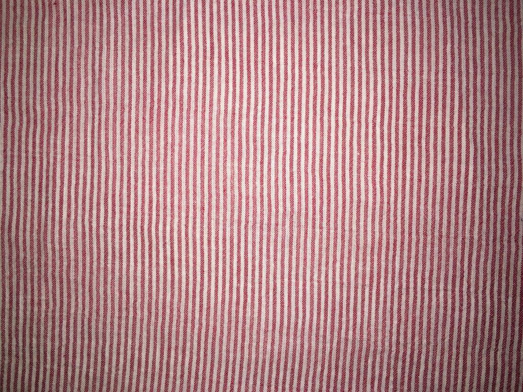 coton blanc rose lignes