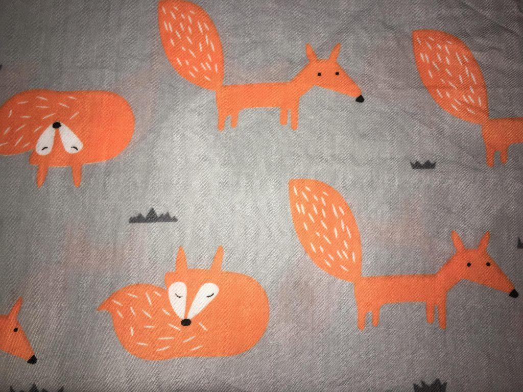 coton gris renards
