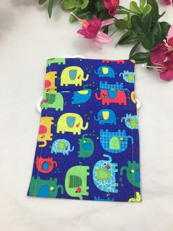 Besace bleu éléphant 56