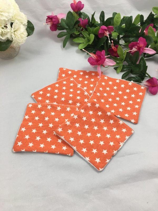 Lingettes orange étoiles 4
