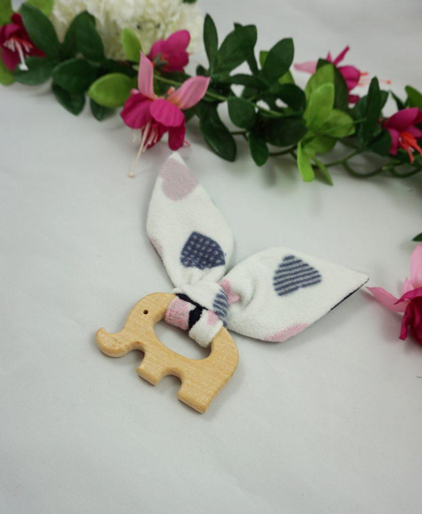 anneau dentition éléphant coton coton polaire