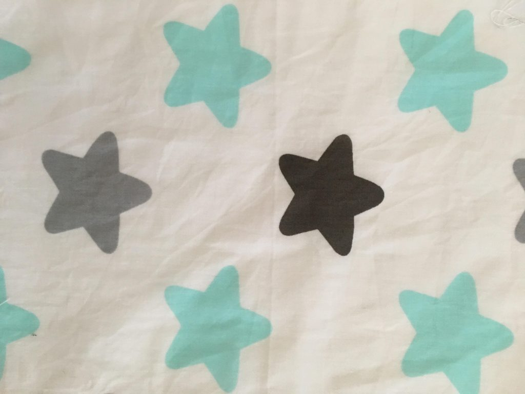 coton blanc étoiles 1