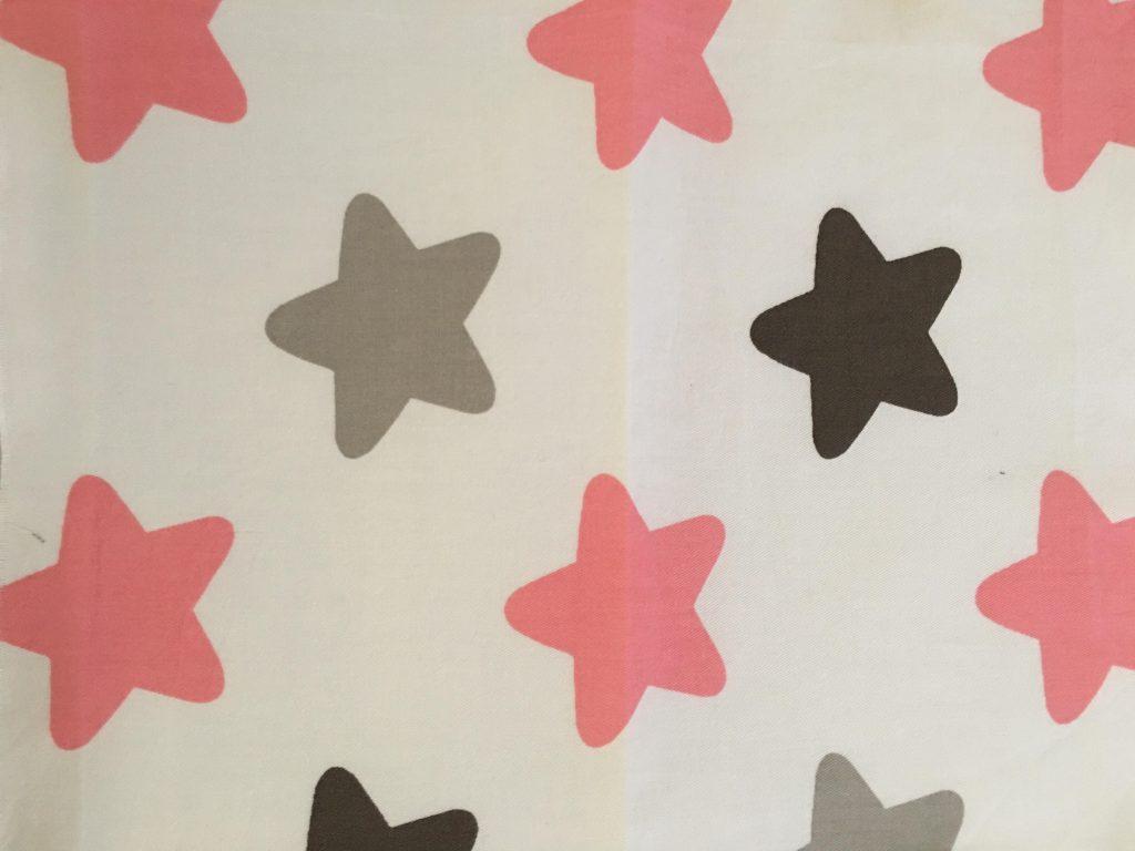 coton blanc étoiles 2