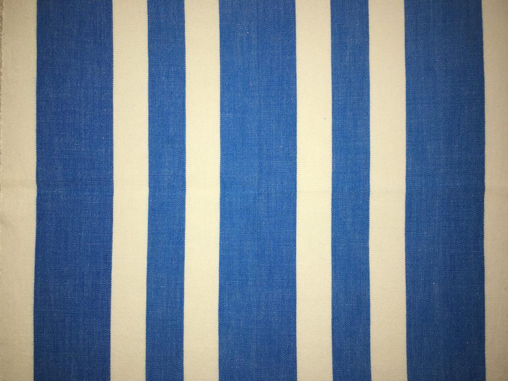coton blanc bleu