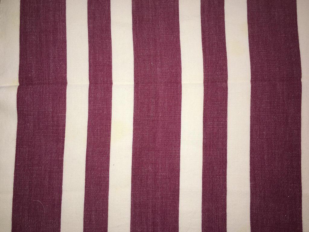 coton blanc violet