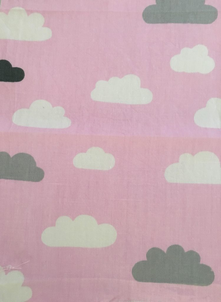 coton rose nuages