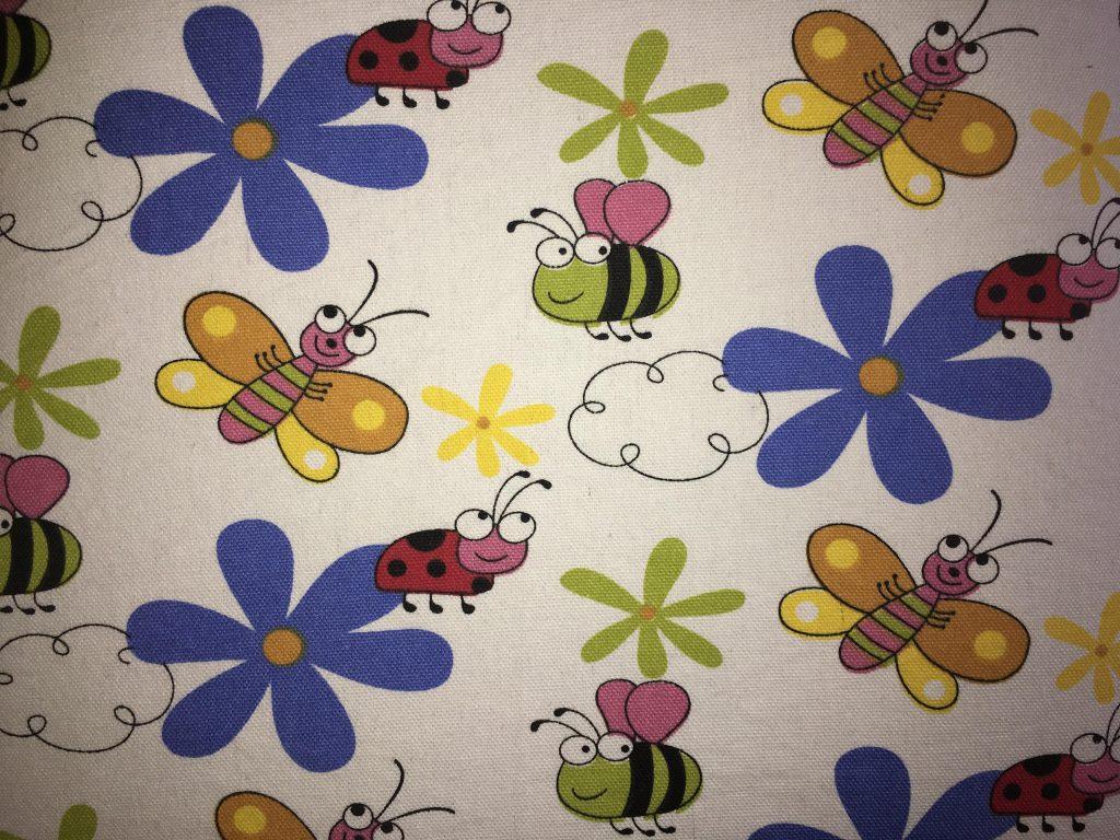 coton blanc insectes fleurs